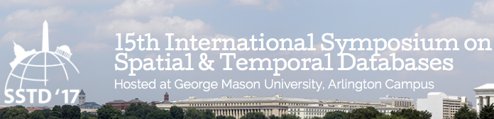 A full paper and a vision paper to appear at the international symposium on spatial and temporal databases